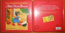 LIVRE PUZZLE LES COMPTINES PUZZLES DE PETIT OURS BRUN Danièle BOUR (Popi) BAYARD
