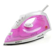 Lloytron E7306 Steam Iron 1600W Homelife Crest X-15 W/ Stainless Steel Soleplate