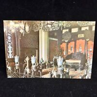 Vintage Post Card Inside View Of The Hall Of Dispelling Clouds China