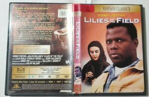 LILIES OF THE FIELD DVD IN GOOD CONDITIONS REGION 1 SIDNEY POITIERP