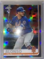 🔥2019 Topps Chrome Pete Alonso RC #204 Silver Refractor New York Mets Rookie