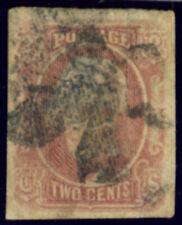 USA (CONFEDERATES STATES) 1862-64 2 CENT. (Sc. A5) USED