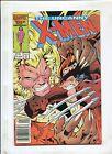 THE UNCANNY X-MEN #213 (8.5) SABERTOOTH VS. WOLVERINE 1987