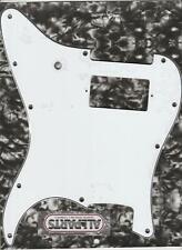 Allparts White 1 Humbucker Pickguard For Strat~78mm-2 Hole Mount~MIJ~Brand New