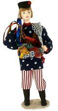 """Porcelain art doll """"Korobeinik - Russian peddler's costume 18 century"""" Handmade"""