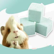 New listing Hamster Rabbit Rat Guinea-pig Calcium Mineral Chew Grinding Cube Toy V6U0.