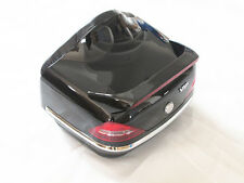 Black Motorcycle Trunk Luggage Case Tail Box Rack Backrest For Harley Touring