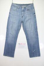 Levis 752 Stretch (Cod. M1613) tg50 W36 L34 jeans usato ACCORCIATO Vintage retrò