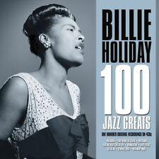 BILLIE HOLIDAY - 100 JAZZ GREATS  4 CD NEW!