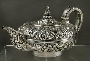 J.B. Jones Silver Teapot                  c1815 MUSEUM FINE ARTS