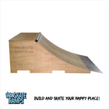 Quarter Pipe Skate Ramp 2 Ft High X 4 Ft Wide skateboards / scooters / bmx