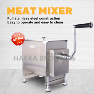 Hakka Manual Meat Mixer 40 Pound /20 Liter Capacity Tank Commercial Food Mixers