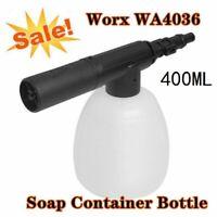 Worx WA4036 Hydroshot Soap Foam Bottle High Pressure Spray For Car Clean Wash SP
