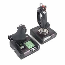 Saitek X52 Pro Flight Simulator System Controller Throttle and Stick for PC