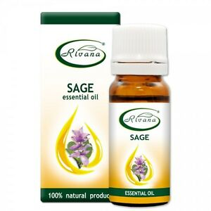 100% Natural Pure Essential Oil Clary Sage - Salvia officinalis - 10ml oil Aroma