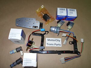 GM 4L60 Transmission Solenoid Kit Master Epc Shift Tcc Pwm 3-2 1996-2002
