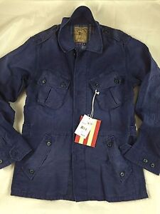 PRPS GOOD&CO.  Military Navy  Blue Field Jacket( XLARGE) $ 425