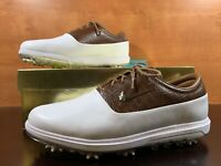 Nike Air Zoom Victory Tour Golf Cleats White Tan Men's Size 13 W Wide AQ1478-101