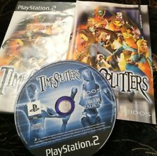 Time Splitters - Game - Sony PlayStation 2 - PS2 - Complete fast arcade shooter