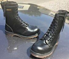 Vintage Dr Martens 1490 black leather boots UK 4 EU 37 Made in England
