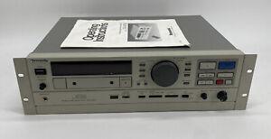 Vintage Panasonic SV-3700 Professional Digital Audio Tape Recorder Read ⬇️