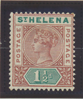 St. Helena Stamp Scott #42, Mint Hinged