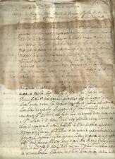 Casale Monferrato Antico Documento Seicentesco di Aurelio Mola 1607