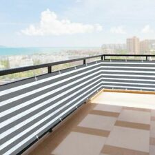 Balcony Privacy Screen Fence Cover Shade Sun Apartment Safe Protection Outdoor