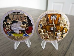 New York Yankees Aaron Judge Rookie of the Year Punisher Challenge Coin