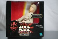 Star Wars Episode 1 Anakin Skywalker Fully Poseable Figure Hasbro 1999 NEW BOXED