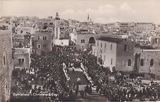 PALESTINE - Bethlehem - Christmas Day - Photo Postcard
