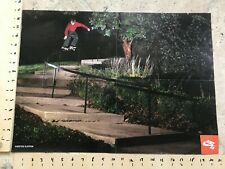 Nike SB Antonio Durao Karsten Kleppan Skateboarding Poster Double Sided rare