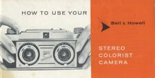 Bell & Howell TDC Stereo Colorist Camera Instruction Manual
