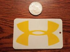 Under Armour authentic Sticker  DEVGRU NFL MBA M4 Police Fitness Crossfit Yellow