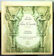 WALTER GIESEKING mozart piano concerto LP VG+ ANG 35215 UK Mono 1st Press