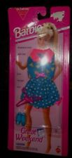 NEW in PACKAGE BARBIE DOLL CLOTHES - GREAT WEEKEND SHORTS, TOP, SHOES, ;HANGER