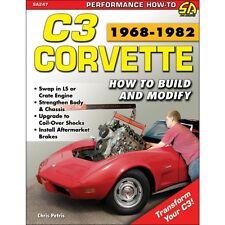 C3 Corvette 1968-1982 How To Build & Modify - Book SA247
