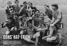 ABERDEEN FOOTBALL TEAM PHOTO>1983-84 SEASON