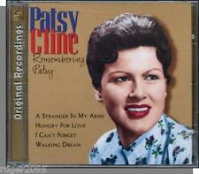 Patsy Cline - Remembering Patsy - New 1998 10 Song Country-Pop Music CD!
