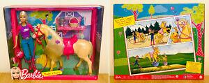 RARE Barbie V5721 - Barbie and Tawny Set - 2011 - Horse Set - With Accessories