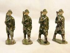 Soldats alu - 4 poilus 1ère guerre mondiale - PC 7