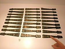 Lot of 27 Plates Carriage House Cabinet Decorations ANTIQUE Bronze RARE