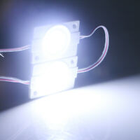 100Pcs 9SMD COB LED Module Strip Light Waterproof IP65 12V DC Store Front Light