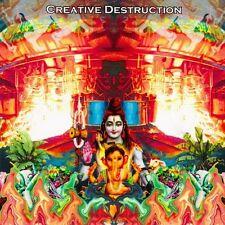 'CREATIVE DESTRUCTION' 2xCD ~ INCAPACITANTS ~ ASTRO ~ KAZUMA KUBOTA ~ merzbow