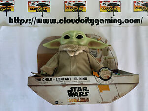 Star Wars The Mandalorian The Child Baby Yoda Feature Plush, moves and sounds