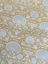 """Tilda Fabric Bumblebee """"Garden Bees Green"""" 100% cotton fabric"""