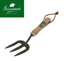 Weed Fork High Quality Greenman Ash Handled Carbon Steel
