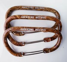 3 Lifetime Decoys Camo Carabiners for Rigs
