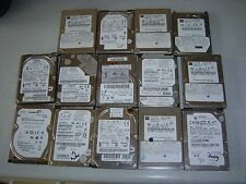 """JOBLOT 14 MIXED 2.5"""" SATA & IDE DRIVES SOME WORKING SOME NOT WORKING FOR SPARES"""