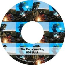 Learn Welding Welder Mask Arc Mig Training Master Class Book PDF Manuals on CD
